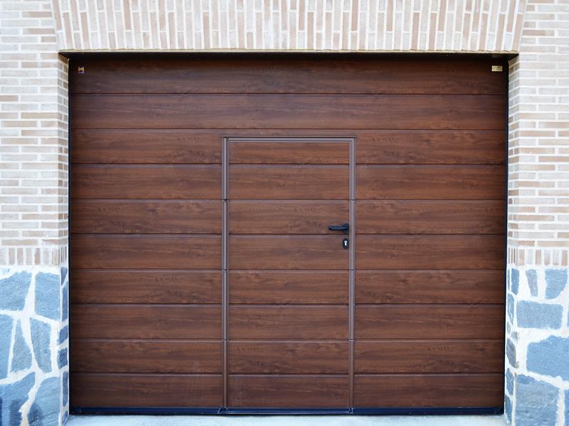 Puerta seccional Hormann