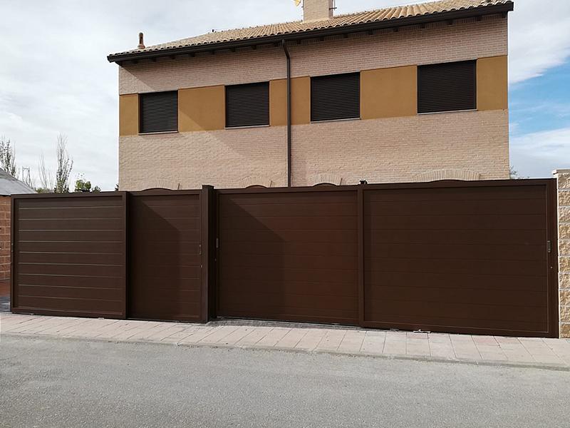 Cerramientos de viviendas en Las Rozas (Madrid)