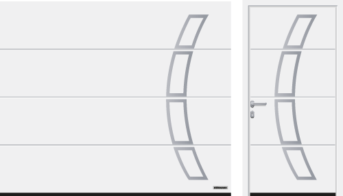 Acanalado L (LPU 67 Thermo, LPU 42), modelo 457, blanco tráfico RAL 9016