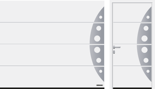 Acanalado L (LPU 67 Thermo, LPU 42), modelo 458, blanco tráfico RAL 9016